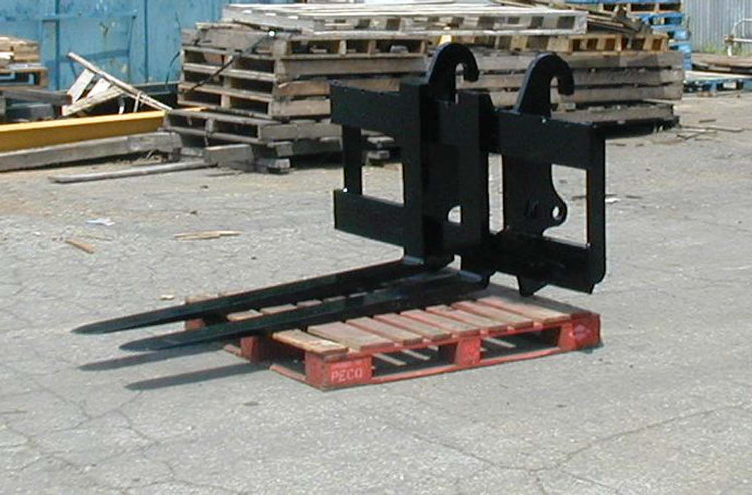 Skid Steer Fork Carriages Attachments