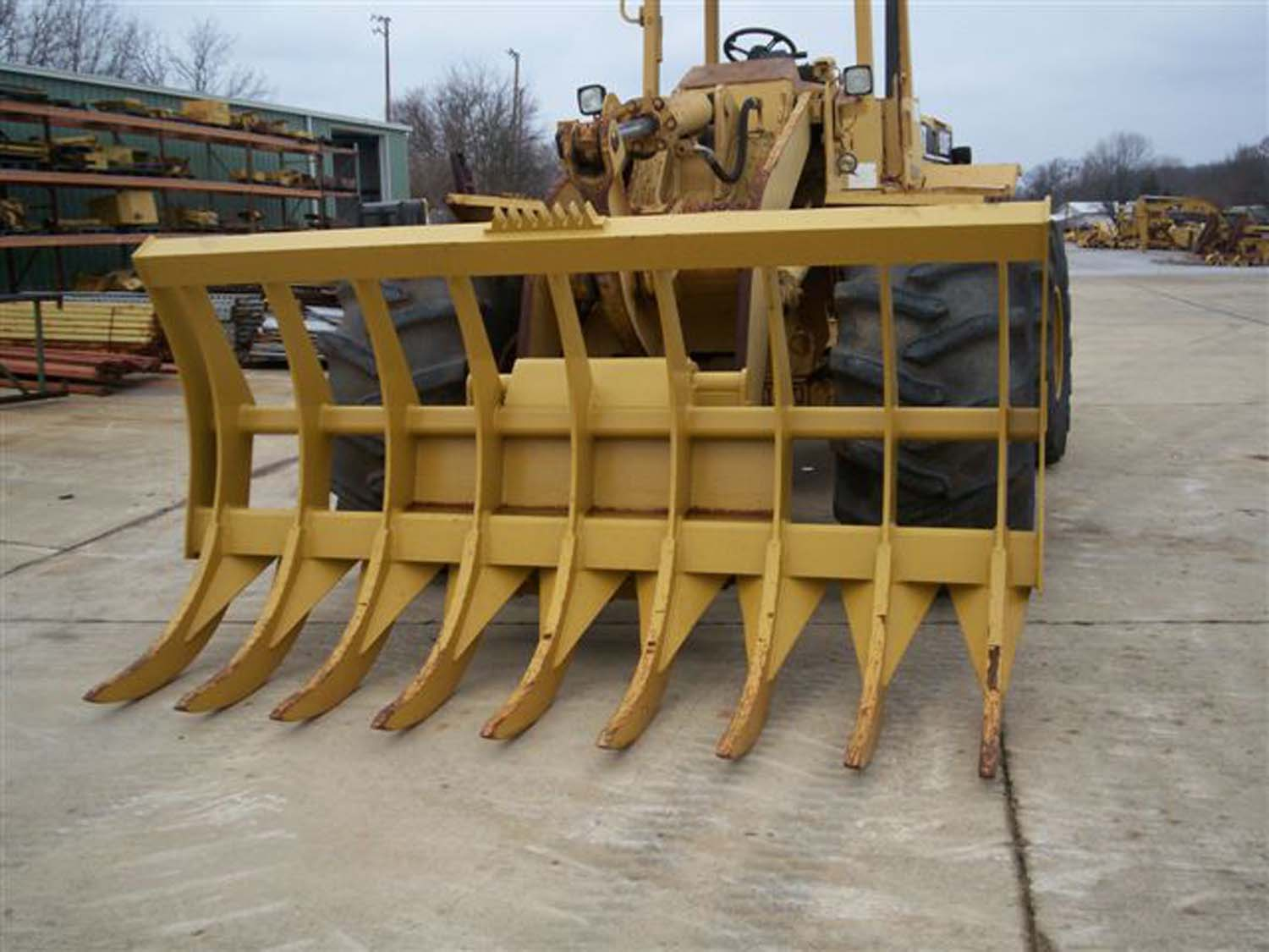 Loader Rake Attachment For Sale