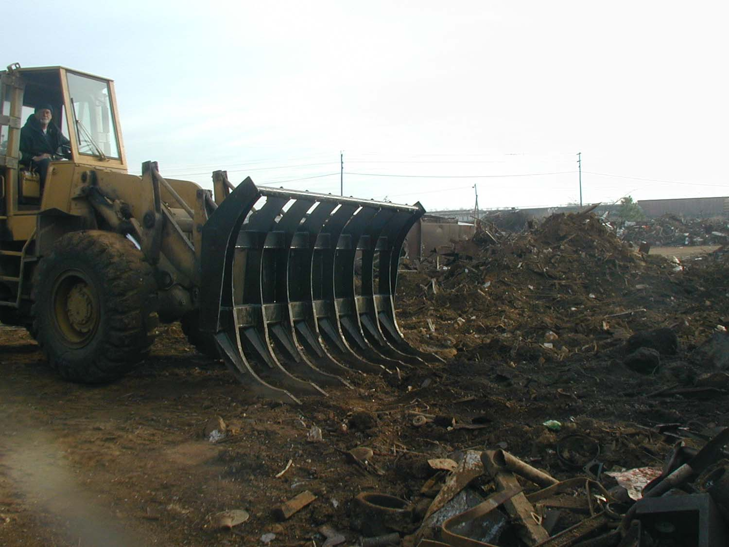 Loader Rake attachments
