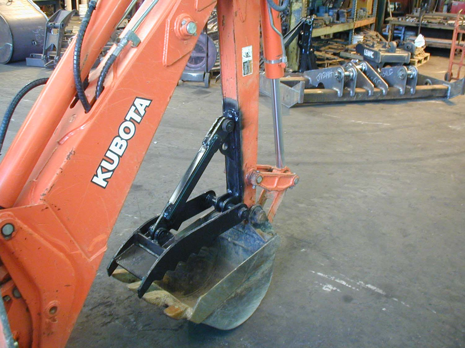 Backhoe Thumbs Attachments