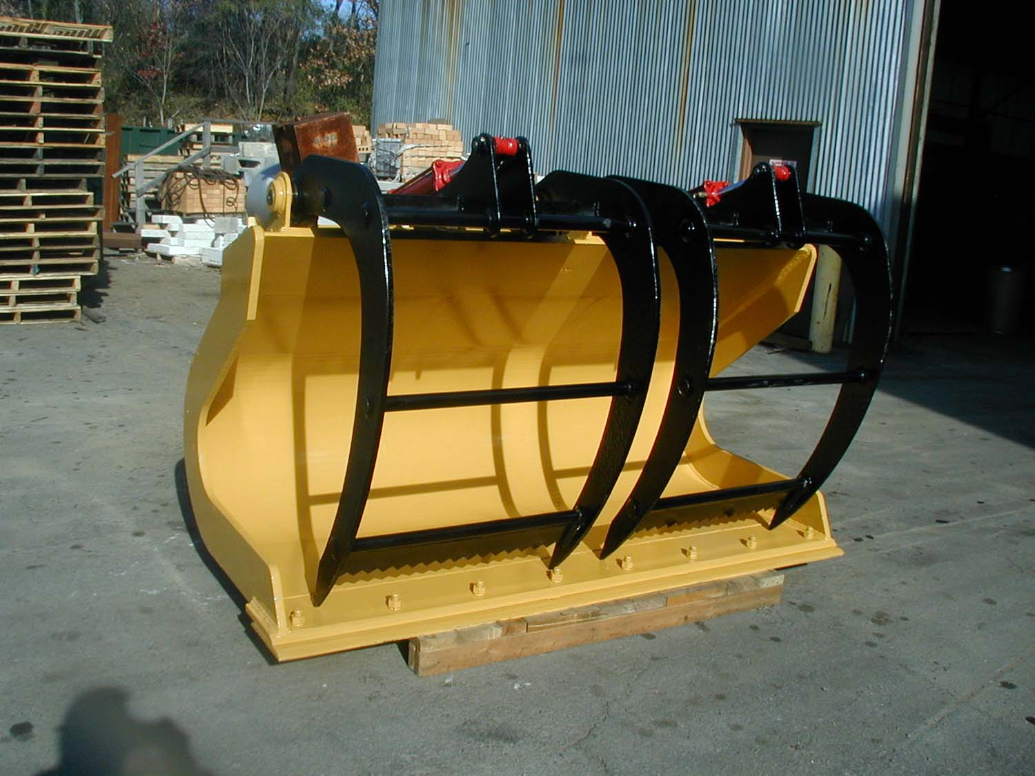 Skid Street Grapple Buckets