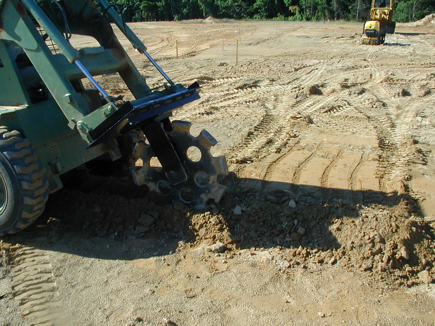 Compaction Wheel  Attachments